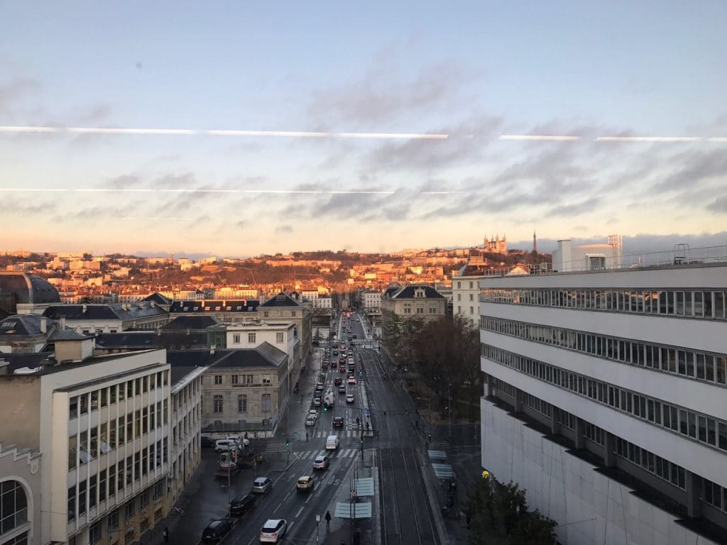 Panorama sur la ville de Lyon