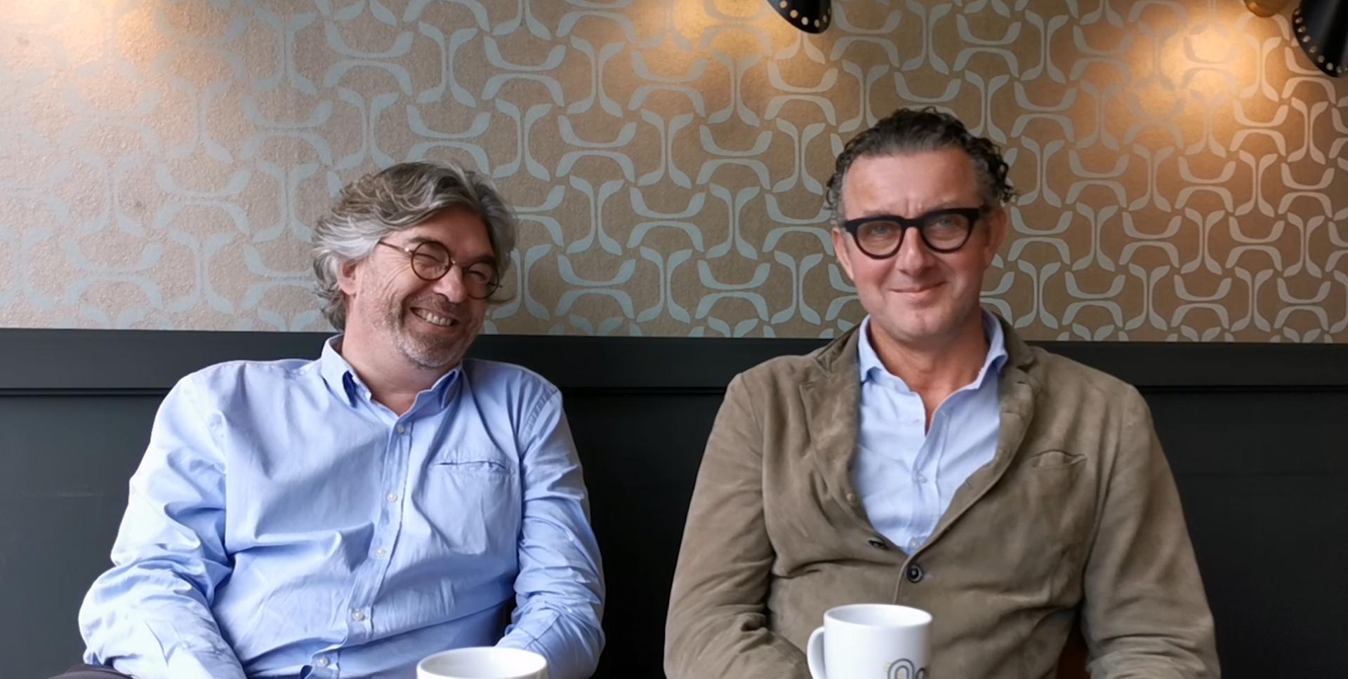Pascal Givon et Edouard Laubies
