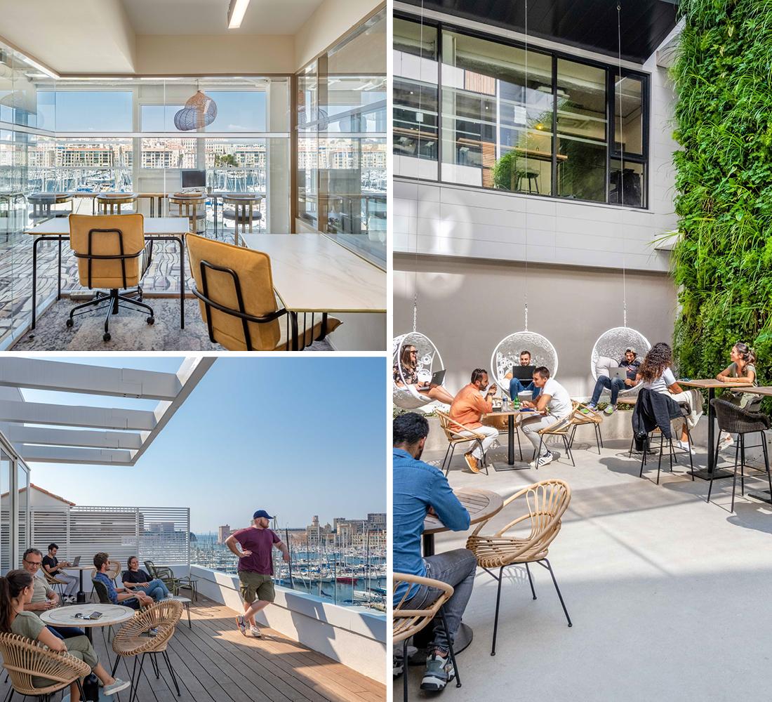 Location de bureaux et coworking à Marseille - image de menu