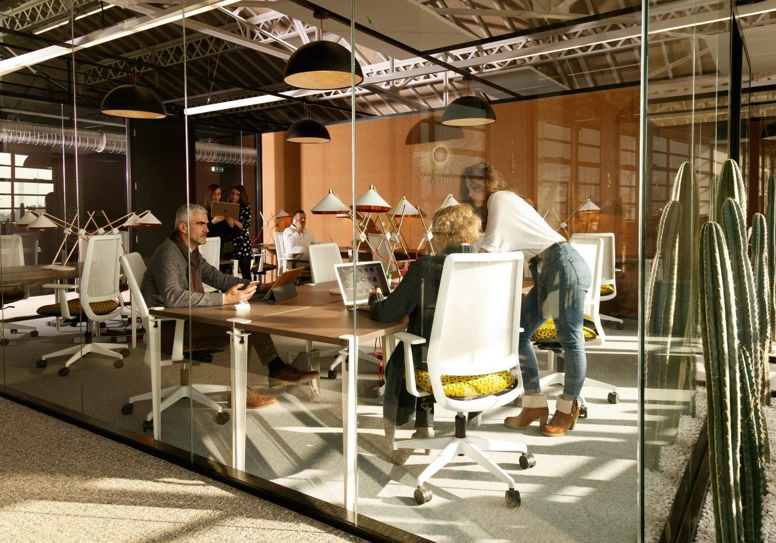 Espace de Coworking à Lyon.