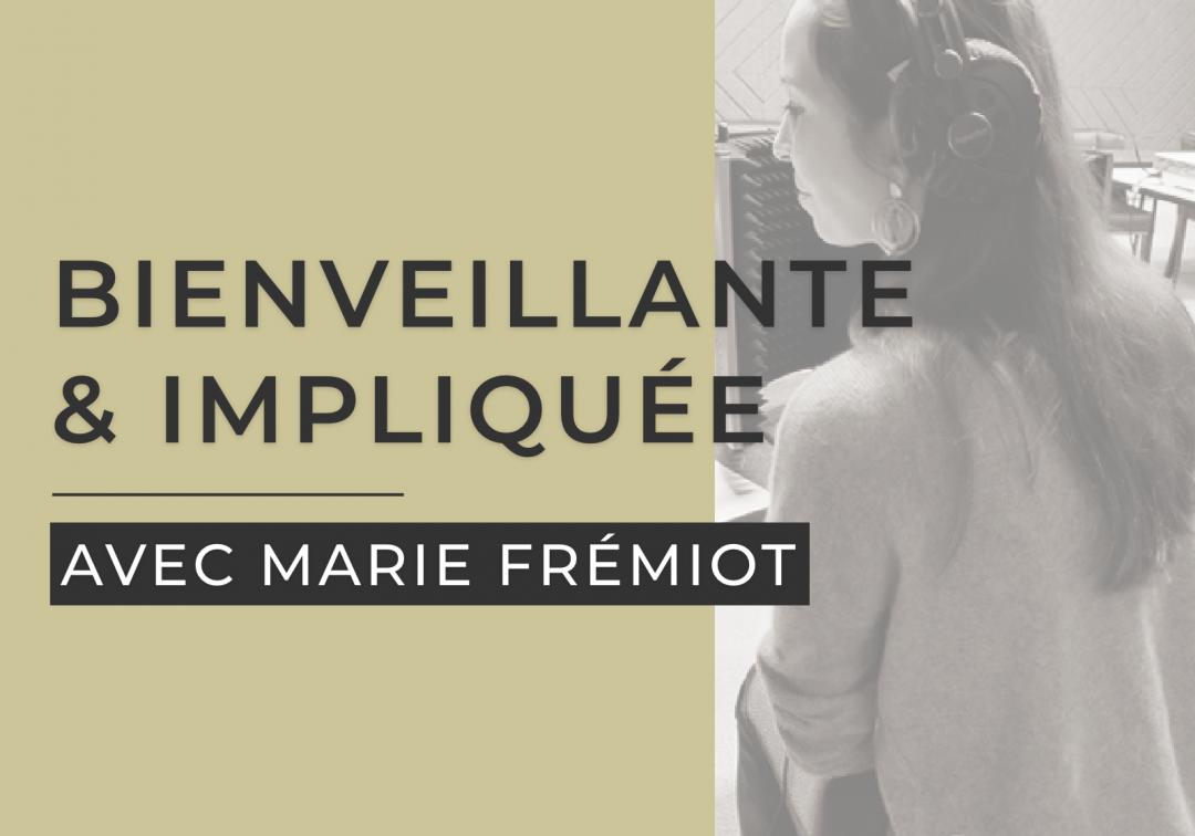 J'ai RDV avec Marie Fremiot